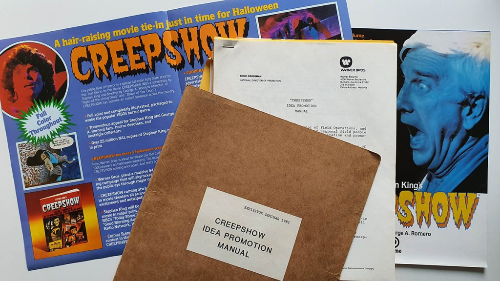 Promotion Marketing et Merchandising Creepshow