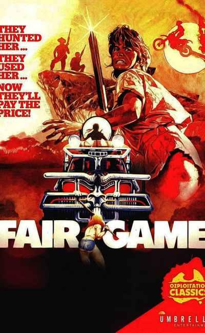 Fair Games , jaquette britannique (Unmbrella Entertainment)