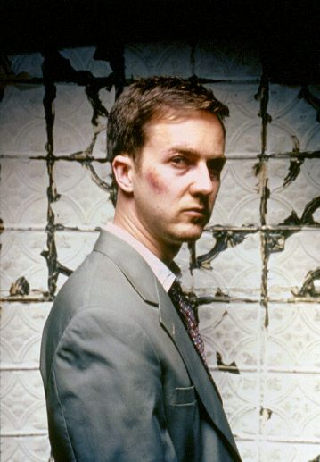 Edward Norton dans Fight Club de David Fincher