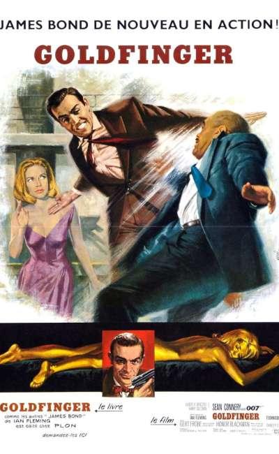 Goldfinger, l'affiche