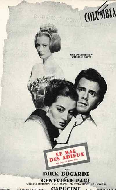 Le Bal des adieux avec Dirk Bogarde et Geneviève Page