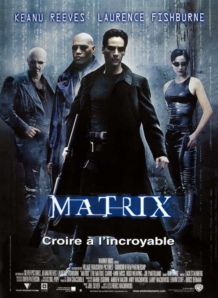 Matrix, l'affiche du premier volet
