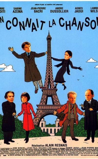 Affiche de On connaît la chanson d'Alain Resnais