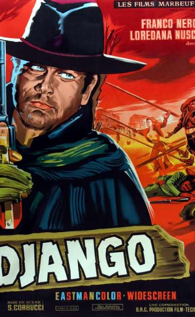 Django, l'affiche du film de 1966