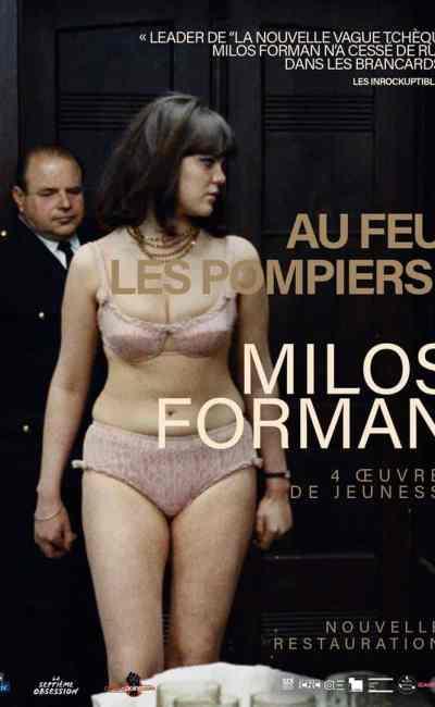 Affiche française (reprise) de Au feu, les pompiers de Milos Forman