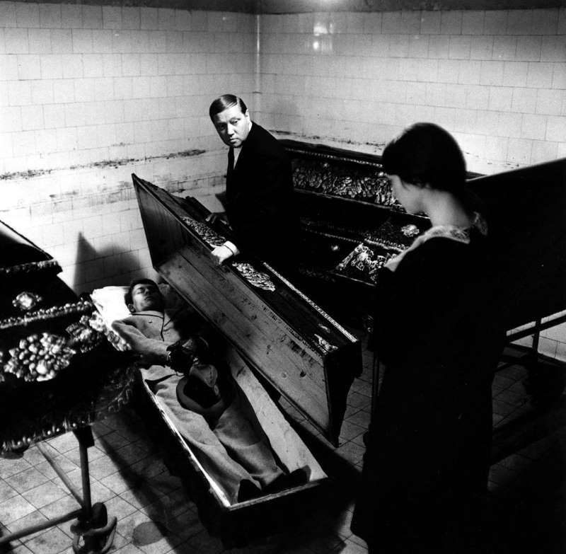 L'incinérateur de cadavres, photo d'exploitation