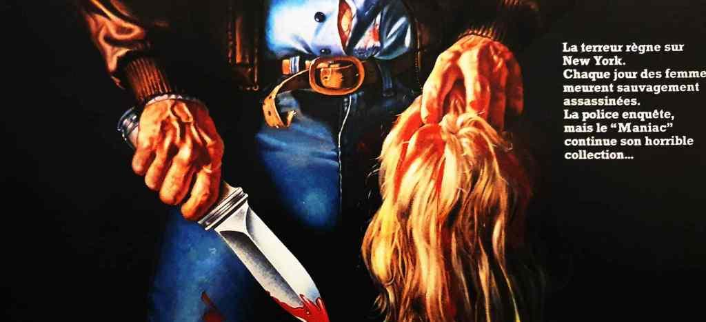 Maniac : l'affiche trash du chef d'oeuvre de William Lustig