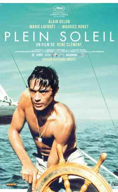 L'affiche de Plein Soleil, avec Alain Delon (reprise 2013)