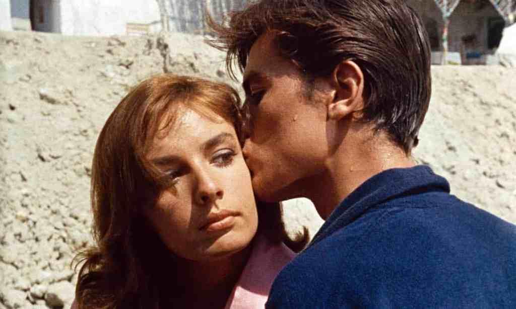 Alain Delon et Marie Laforêt, tendus dans le thriller Plein Soleil