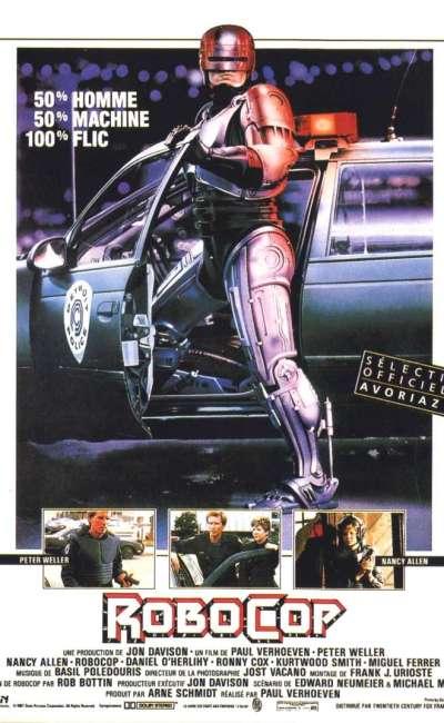 Robocop, l'affiche du film de 1987