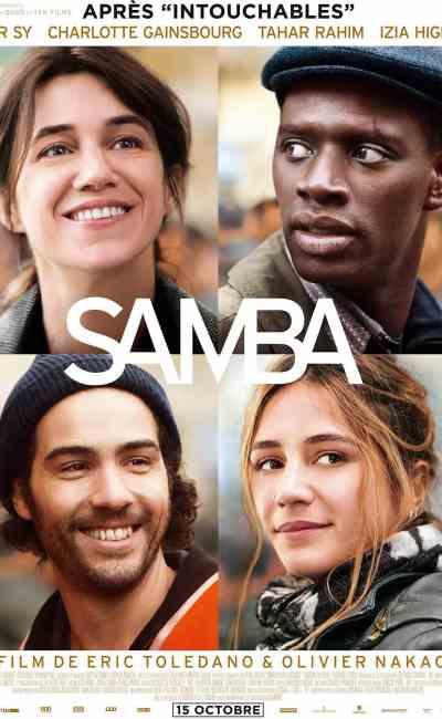 Samba, avec Omar Sy, affiche du film