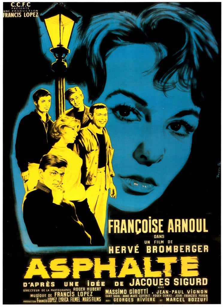 Affiche de Asphalte de Hervé Bromberger