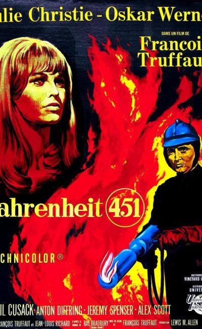 Affiche de Fahrenheit 451 de François Truffaut