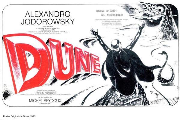 Jodorowsky's Dune, projet d'affiche de Landi