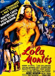 Affiche originale de Lola Montès (1955) de Max Ophuls