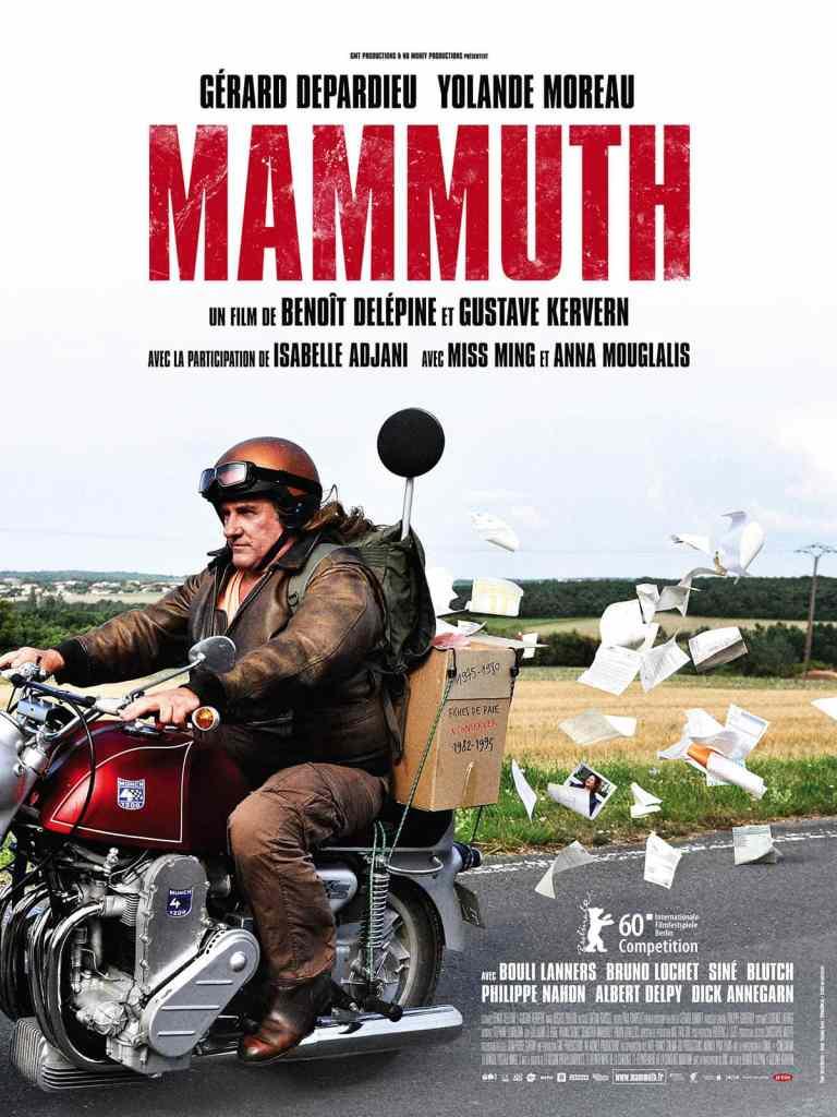 Mammuth, l'affiche de Kervern et Delepine, Depardieu