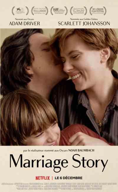 Marriage Story : affiche du film de Noah Baumbach