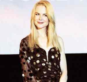 Nicole Kidman lors de la promotion du film Lion, au Gaumont Opéra à Paris
