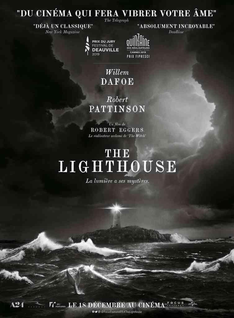 Affiche française du film The Lighthouse