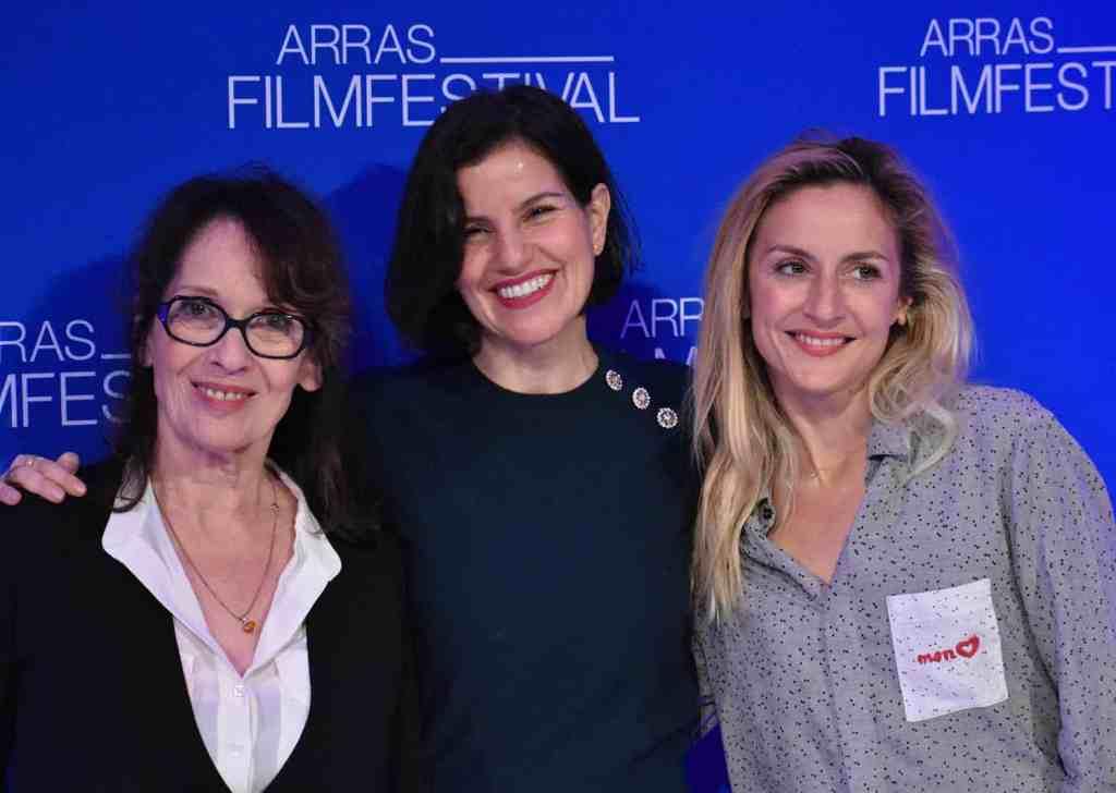 Chantal Lauby, Jézabel Marquès et Camille Chamoux au Arras Film Festival