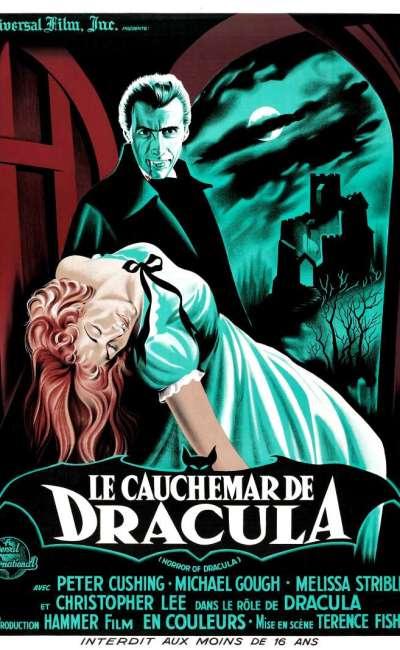 Le cauchemar de Dracula, l'affiche
