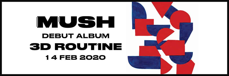 3D routine, premier album des Mush, le 14 février 2020