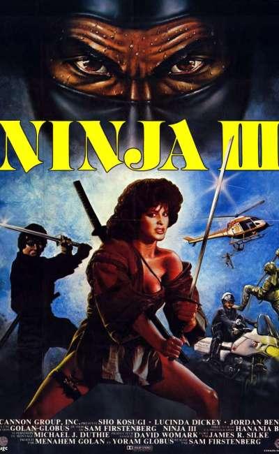 Ninja 3, l'affiche du film Cannon