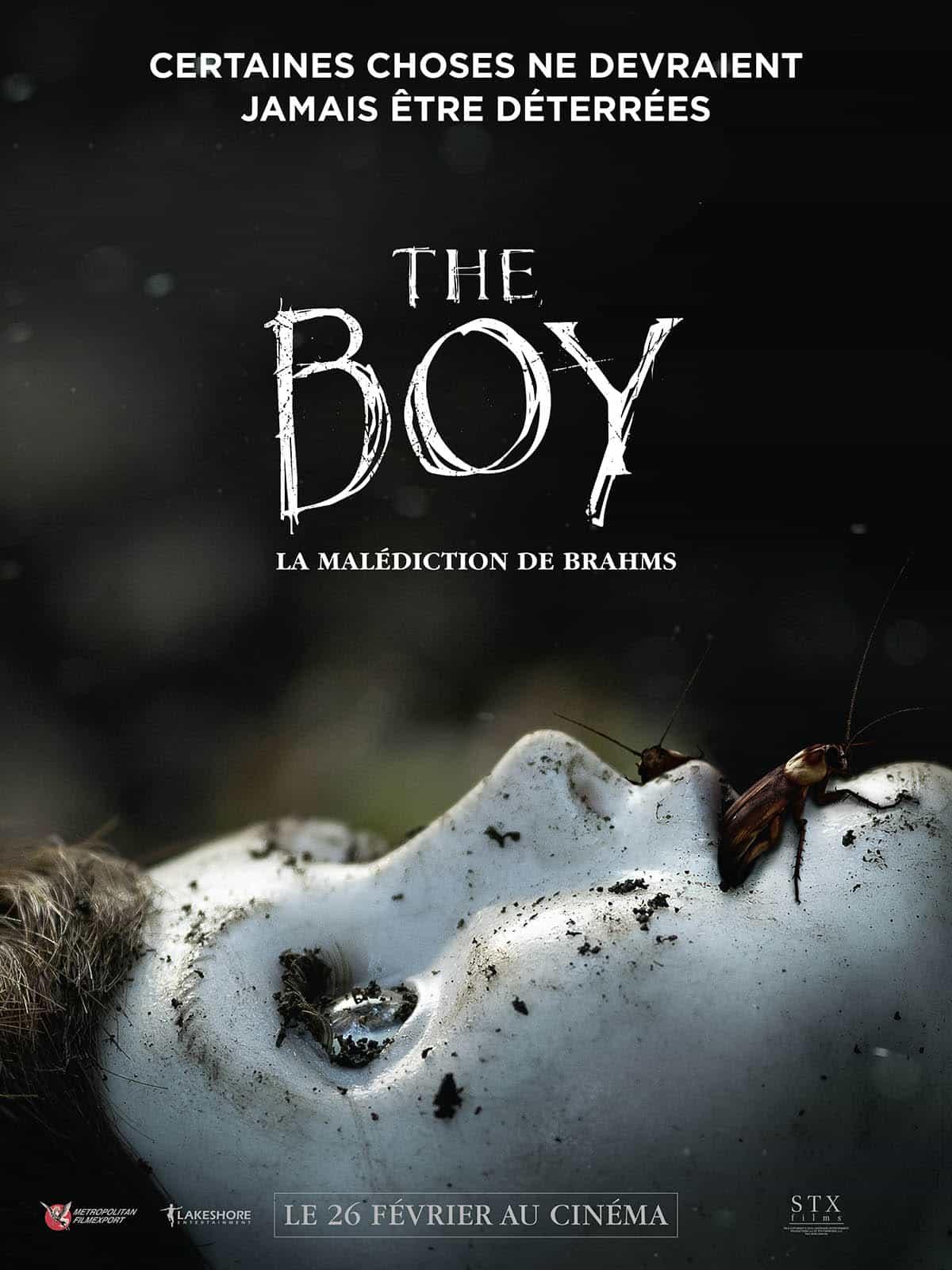 The Boy la malédiction de brahms affiche