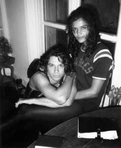 Michael Hutchence et Michele Bennett