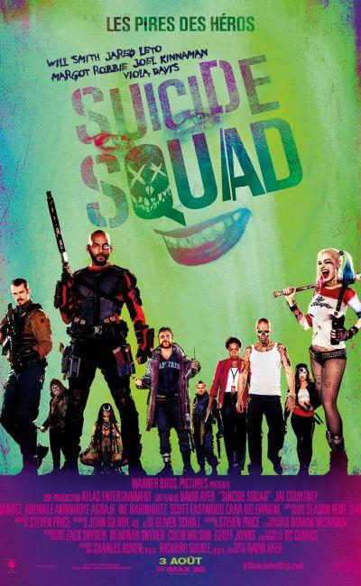 Suicide Squad, affiche française définitive