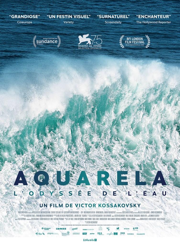 Aqualrela, l'odysée de l'eau, affiche