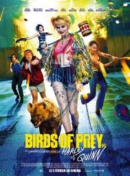 Birds of Prey et la Fantabuleuse Histoire de Harley Quinn, affiche du film
