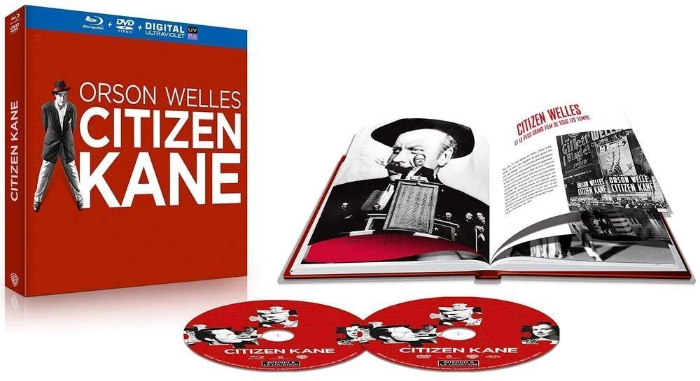 Edition prestige de Citizen Kane, en blu-ray chez Warner Bros