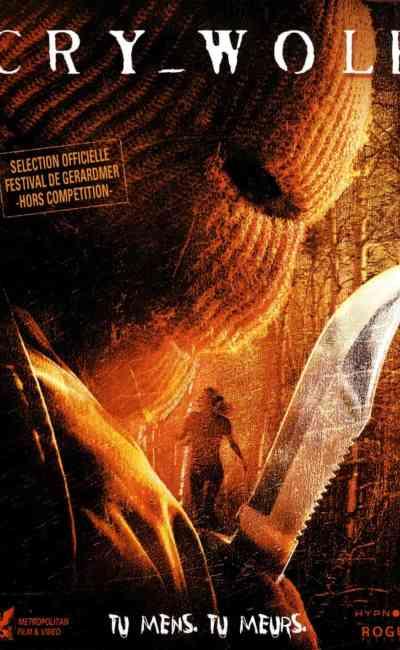 Cry Wolf, jaquette du film de Jeff Wadlow
