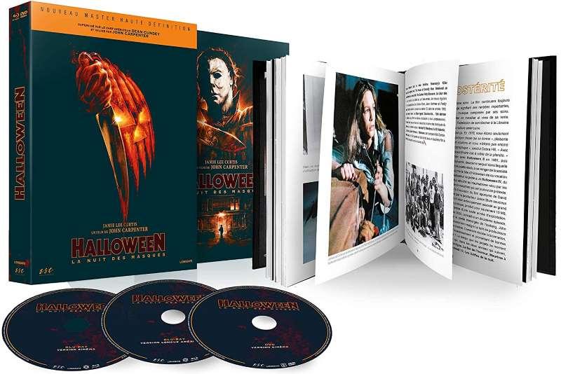 Halloween, la nuit des masques, mediabook ESC