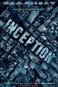 Affiche logo d'Inception