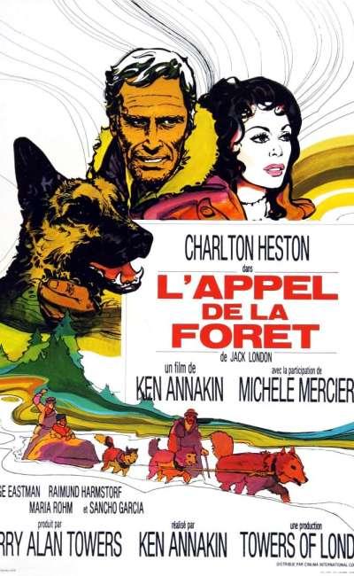 L'appel de la forêt, l'affiche du film de 1972