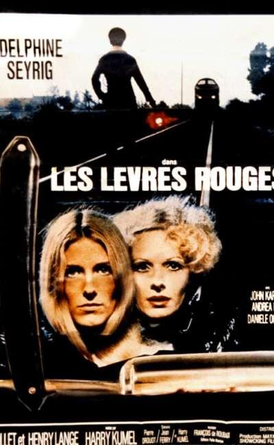 Les lèvres rouges, l'affiche française