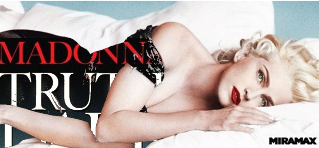 bandeau fan art Madonna truth or dare