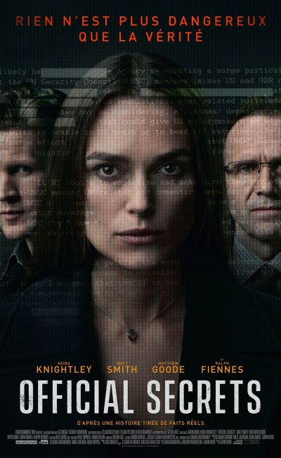 Official secrets : affiche