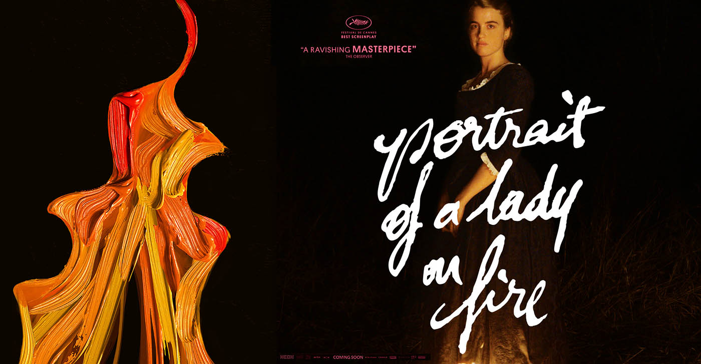 Les deux affiches américaines de Portrait de la jeune fille en feu de Céline Sciamma
