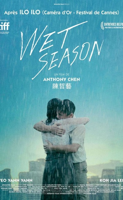 Affiche de Wet Season d'Anthony Chen