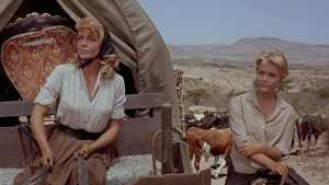 Dorothy Malone et Carol Lymley dans El Perdido