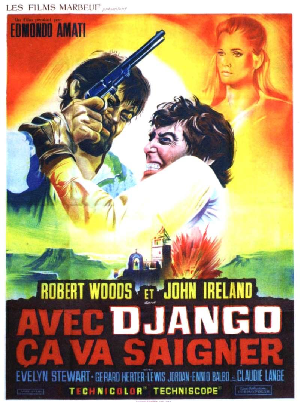 Avec Django, ça va saigner, l'affiche