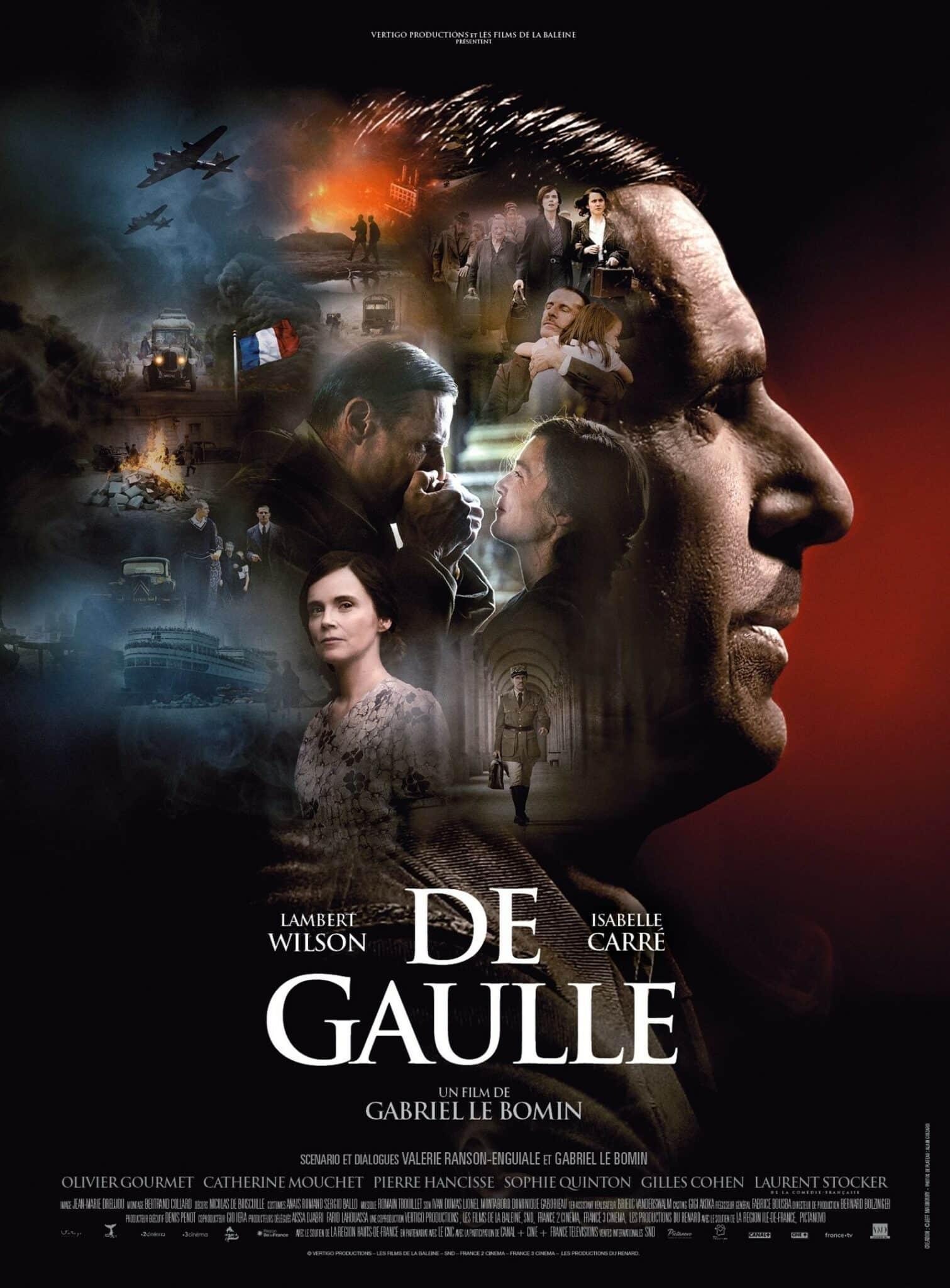 De Gaulle, affiche du film
