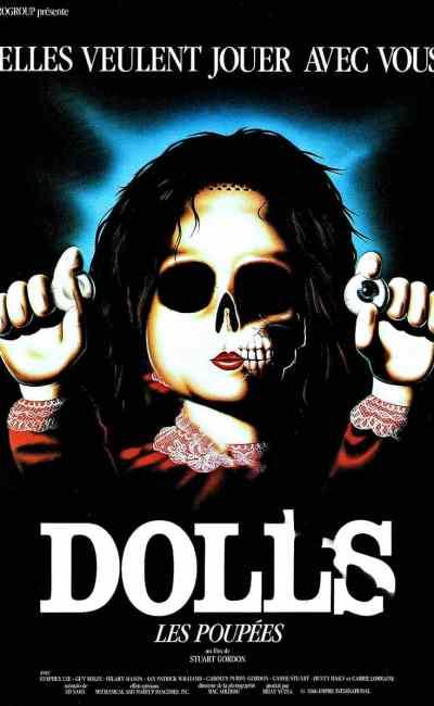 Dolls : les poupées , affiche du film de Stuart Gordon (1987)
