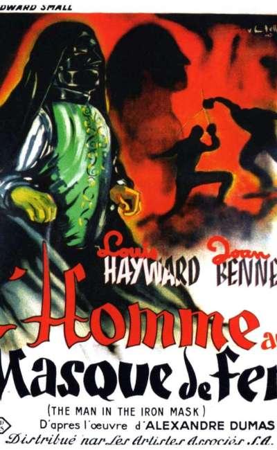 L'homme au masque de fer, l'affiche du film de James Whale