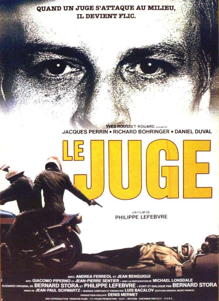 Le juge, l'affiche du film de 1984