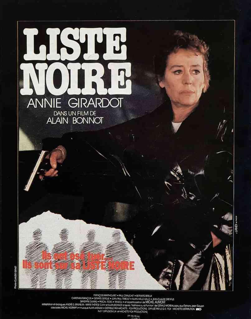 Liste Noire avec Annie Girardot d'Alain Bonnot s'affiche