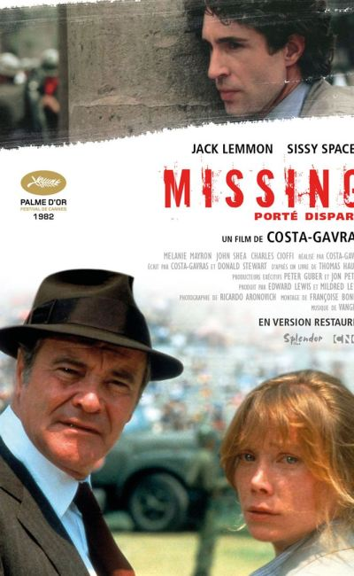 Affiche française (reprise) de Missing de Costa-Gavras